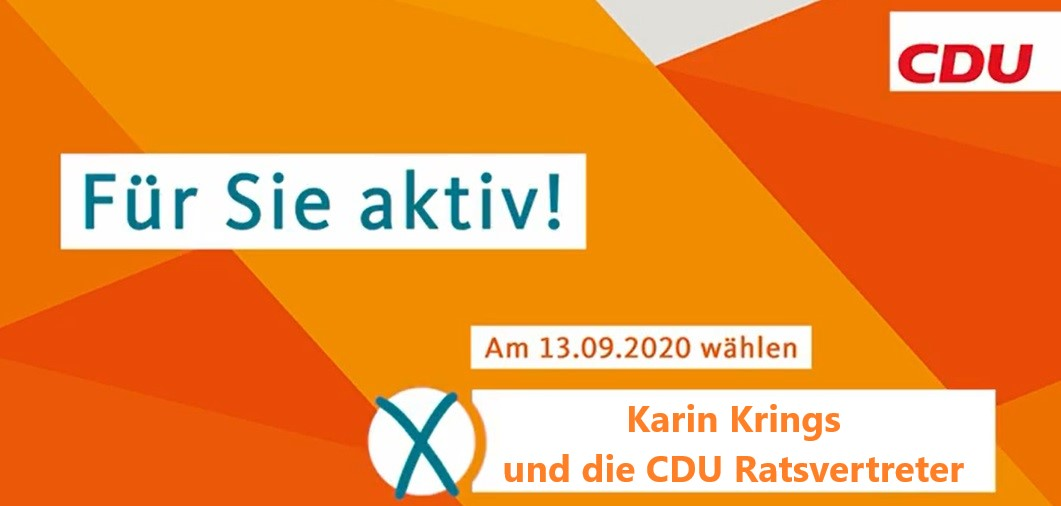 Wahlprogramm der CDU Inden